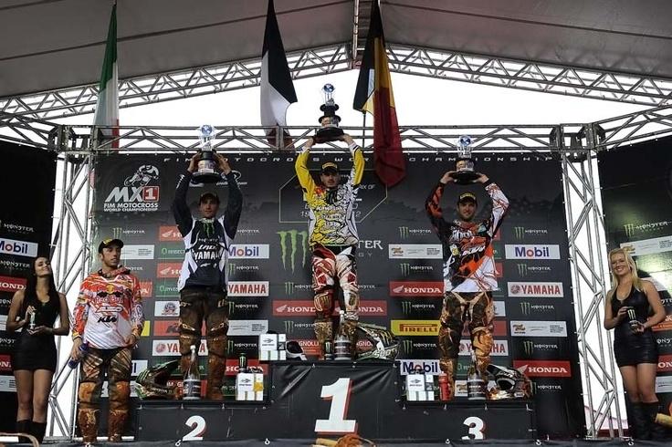 MX1 Podium Beto Carrero 2012