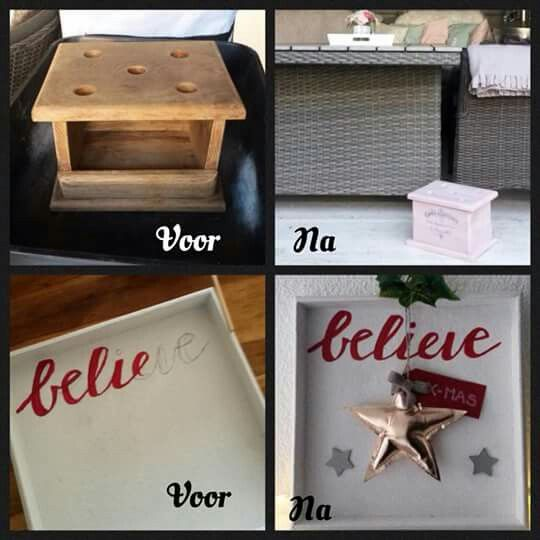 Foot stove restyled and Christmas decoration