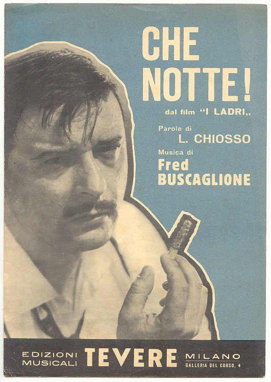 Fred Buscaglione (spartito)
