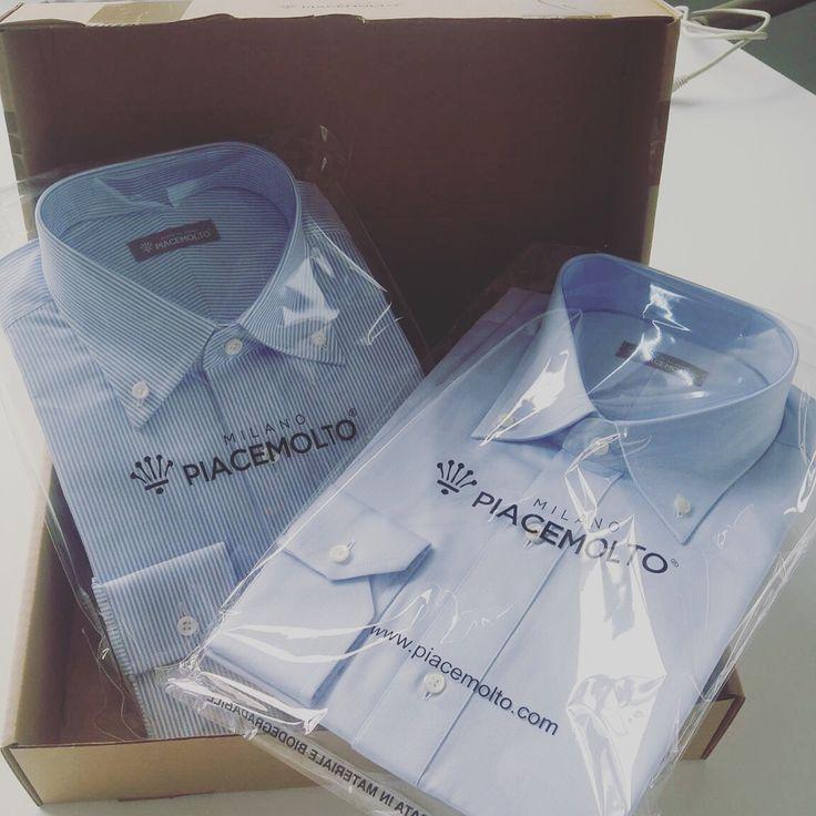 [CLIENTI SODDISFATTI]  È sempre molto piacevole vedere l'arrivo del box con le camicie PIACEMOLTO - tailored shirts. Ancora una volta servizio ottimo e qualità alta. Bravi!  www,.piacemolto.com