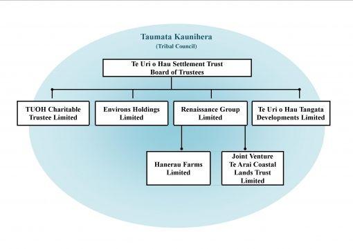 Te Uri O Hau Settlement Trust :: Trust Structure