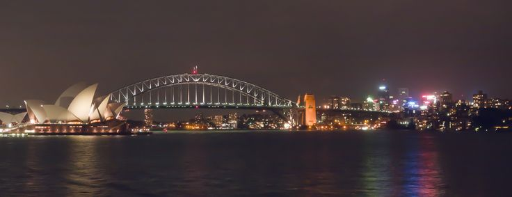Sydney night lights.