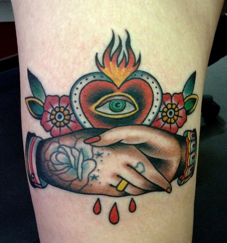 Spider tatoo redhead austin