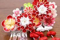 """Gallery.ru / Marianna1504 - Альбом """"Канзаши. Цветы из ткани. Японские украшения. МК."""""""