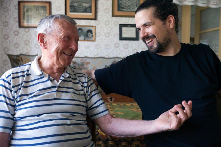Conversing With Elderly  