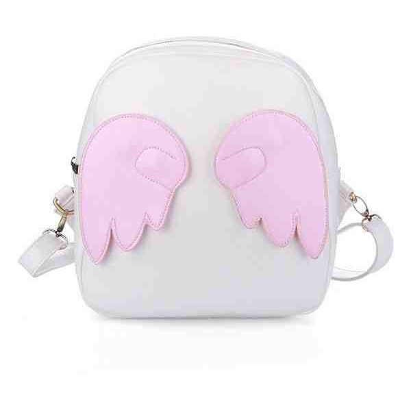 Harajuku Angel Wings Backpack (Lolita, Pastel Goth, Kawaii) (£33) ❤ liked on Polyvore