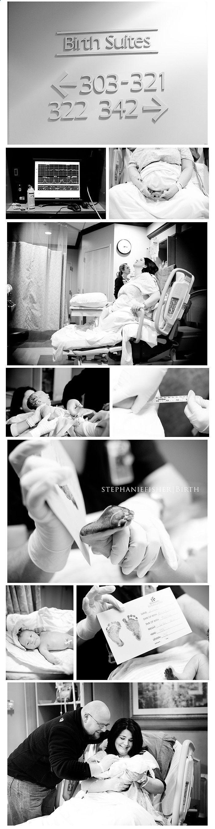 Labor: hospital photography.