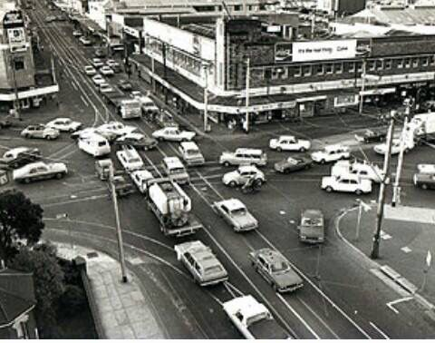Camberwell Junction 1970s