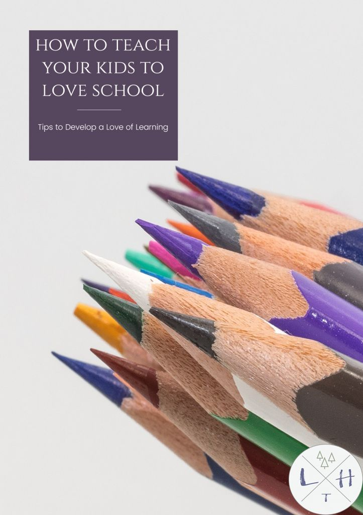 Showing your kids how to come to love going to school is a difficult and challenging job but one that should be important in every family.