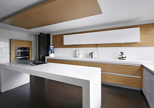 Perago's High - Quality Kitchens: The kitchen is the most important space in a home where the whole family comes together to share their happiness and dreams. It is where you hold special memories of your past, present and future. Make this a special space with Perago solid surfac