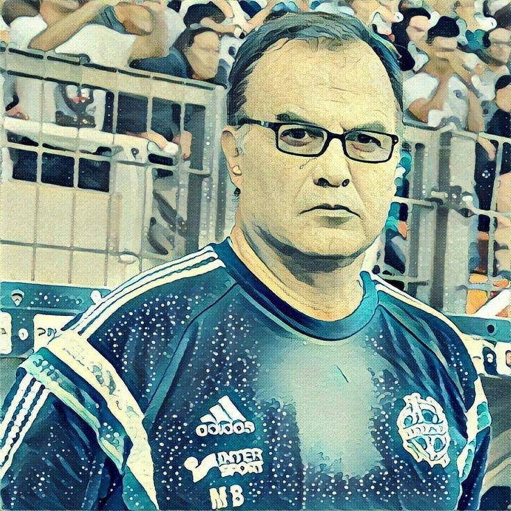 """Marcelo """"El Loco"""" Bielsa #Marseille #OM #VenteOM #prisma"""