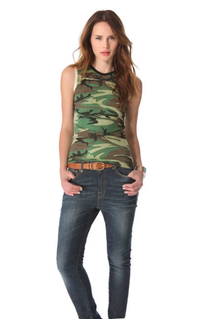Womens Camo Fashion Trend - Camouflage Fashion Trend - ELLE  @stephen-hart- online.com