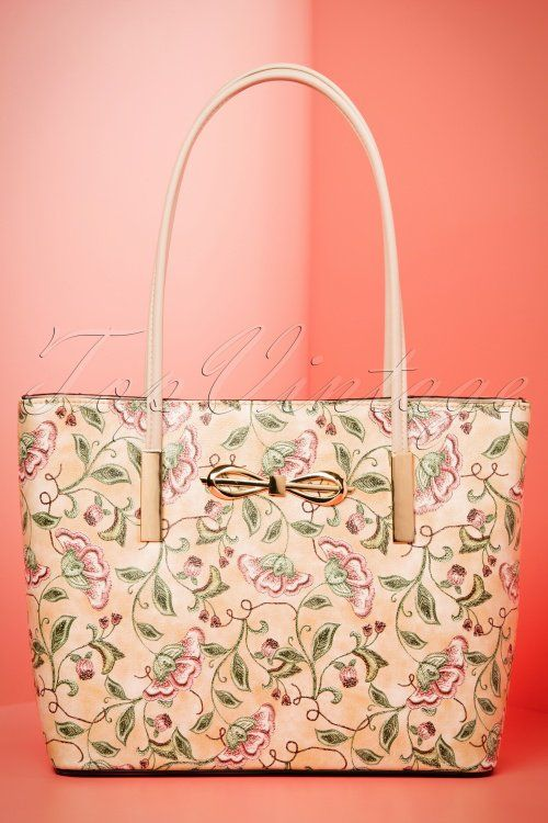 La Parisienne Abricot Floral Handbad 212 29 21647 03202017 015W