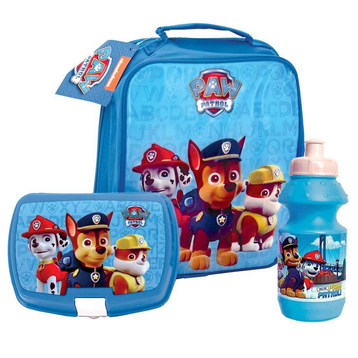 Paw Patrol Lunch Set INCLUDES: Sport Bottle, Lunch Box & Lunch Bag. COLOUR: BLUE FEATURES:…