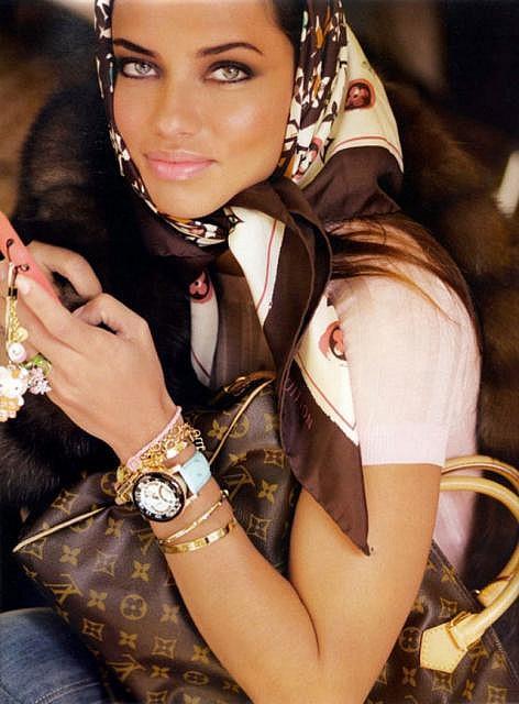 Adriana Lima for Paris Vogue, photo by Luminous Phenomenon on flickr