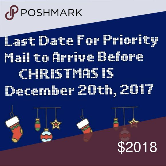 To Let You Know Delivery Date Delivery date for all packages labeled priority Mail is December 20th 2017 for arrival before Christmas I was given this information by the post office through my account with them yesterday Friday the 17th 2017 if you have any questions please ask I will answer to the best of my abilities thank you all CARTERS Pajamas Pajama Sets