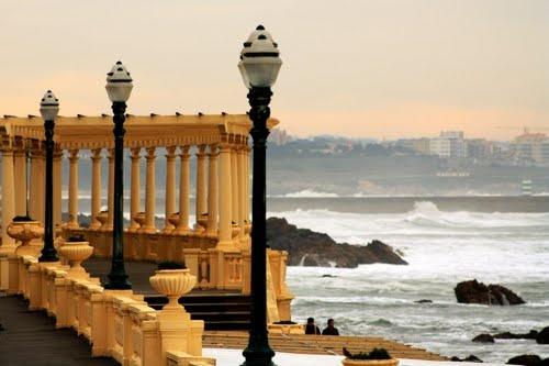 Balcony to the #Atlantic sea, Oporto #Portugal