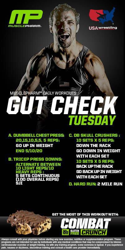 Gut Check Tuesday