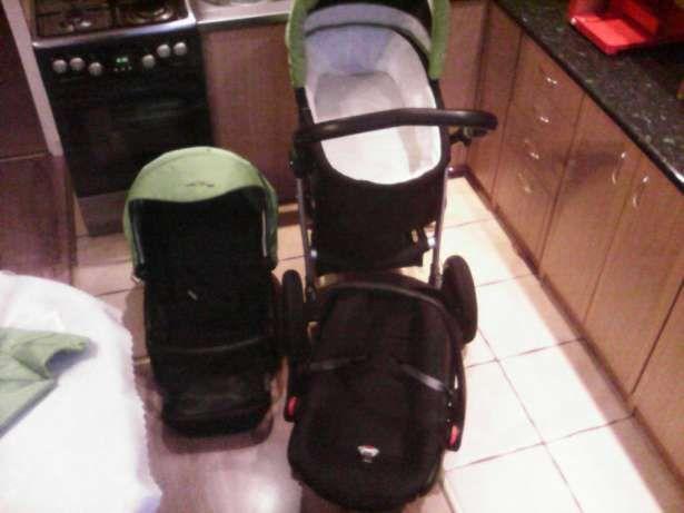 Wózek dziecięcy 3w1 firmy Bebetto Rybnik - image 1