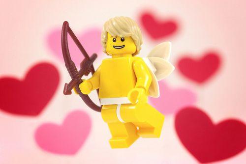 LEGO Cupid! Go, minifig! GO!: Lego Collection, Matchmak Art, Lego 2012, Christmas Lego, En Lego, Lego Cupid, Art Prints, Color Lego, Cupid Idea