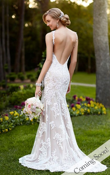 Wedding Dresses - Lace Wedding Dress by Stella York - Style 5984  (mom, aunt Karen, I found my gown)