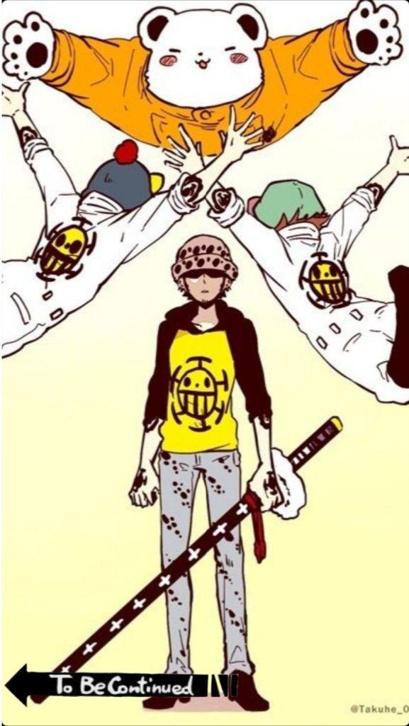 Law To Be Continued One Piece Personajes De Anime Fondo De Pantalla De Anime Luffy