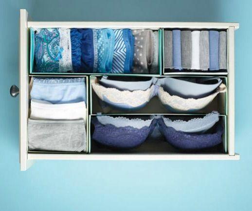 17 migliori idee su organizzare i cassetti su pinterest - Organizzare cassetti bagno ...
