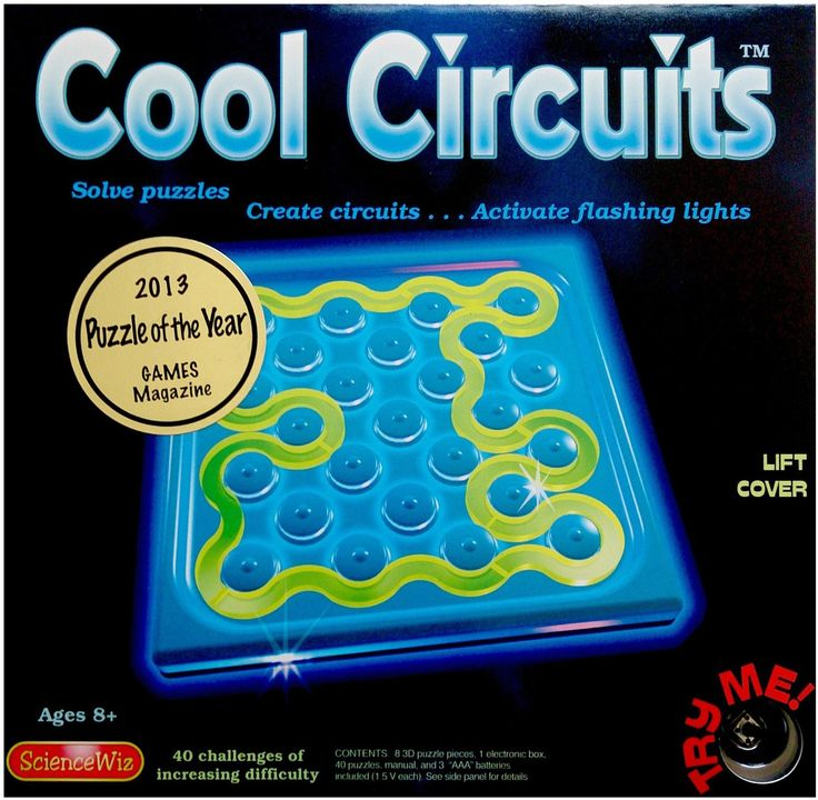 SCIENCE WIZ Cool Circuitst#toys2learn#science#kit#electricity#thames&cosmos#learning#teaching#home#school#kids#childrens#circuits#australia#