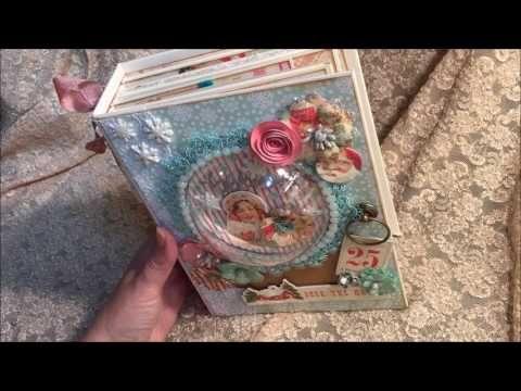 Snow Globe Mini Album Tutorial