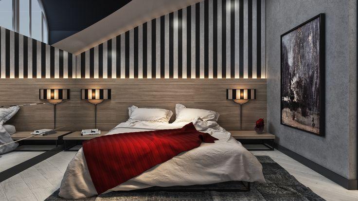 Çatı Katı Ebeveyn Yatak Odası Tasarımı