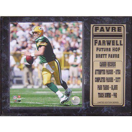 NFL Brett Favre Stat Plaque, 12x15