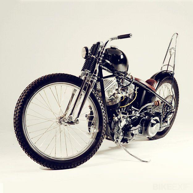 "Cro Custom ""Siksika"" (Black Foot) Harley Sportster influenced."