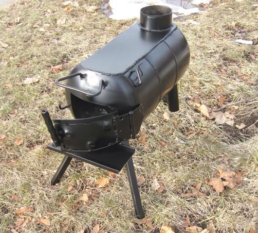 Wood Burning Stove I Plan To Build Asap From A Propane