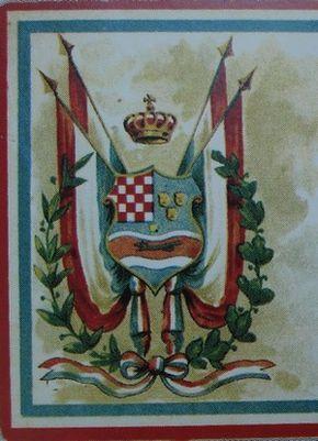 United Kingdom Of Dalmatia Croatia And Slavonia Coat Of Arms Hrvatska Grb In 2019