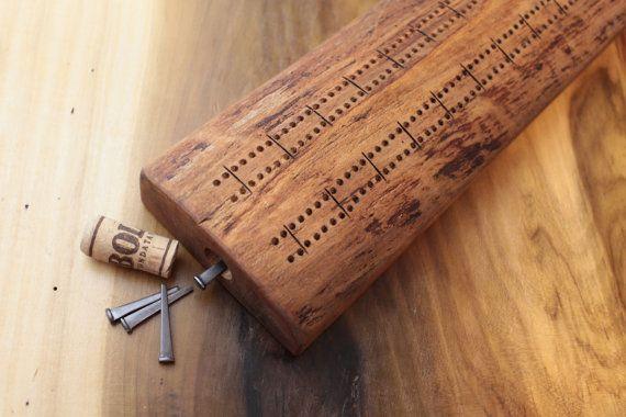 Antique Wood Crib