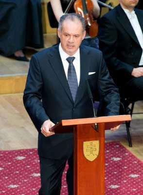 Slovakia's type of Government is a Parliamentary Democracy. A Parliamentary Democracy has 2 leaders. A Prime Minister and a President. The president is currently Andrej Kiska