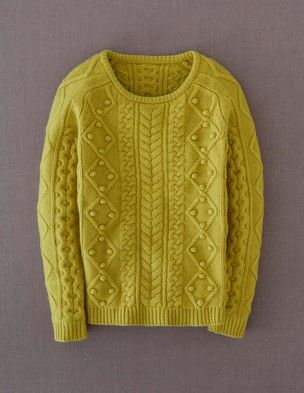 Boden Cable Sweater