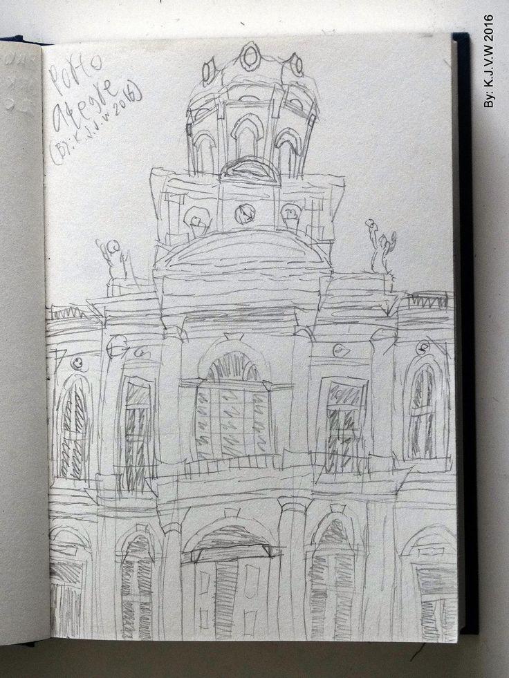 https://flic.kr/p/DxbzF6 | Porto Alegre | The Stunning City Hall.