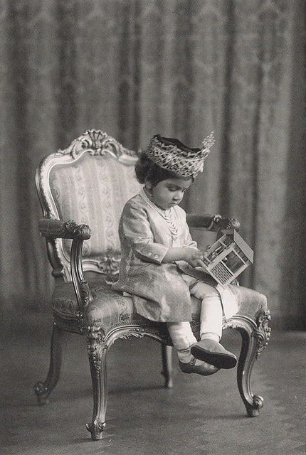 Maharaja Gaj Singh of Jodhpur as a young child.