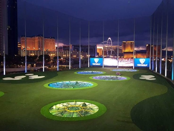 Top Golf Las Vegas is more than hitting golf balls, it about cocktails, pools, bars and great food while playing golf on the Las Vegas strip