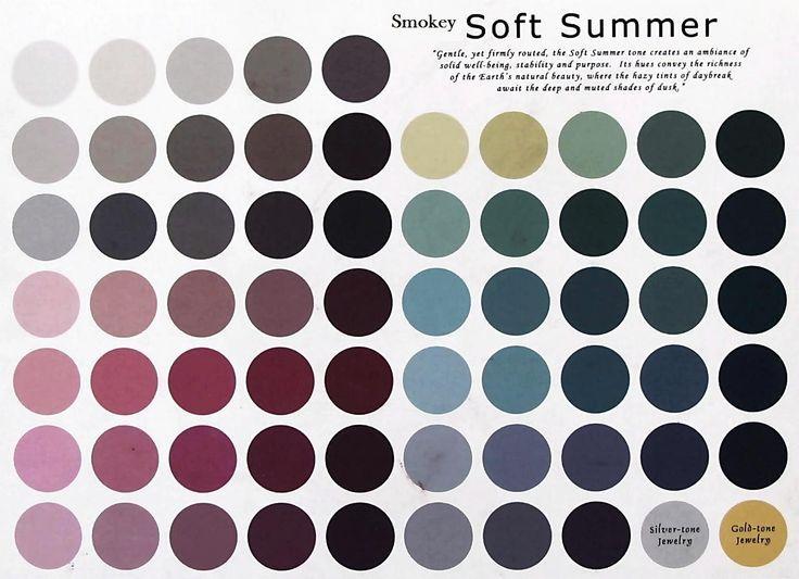 Image result for soft summer color palette