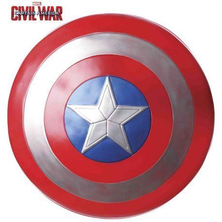#Escudo de #Capitán #América CW  Ideal para fiestas o realizar un bonito regalo. Mercadisfraces tu #tienda de #disfraces #online