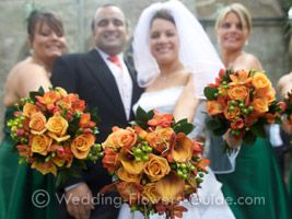 Wedding Bouquets For Fall - The Wedding Specialists