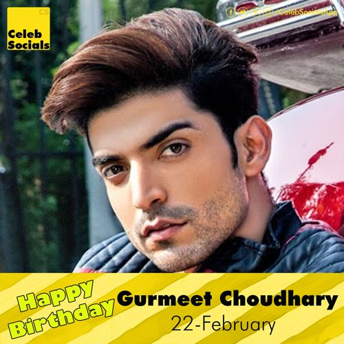 #CelebSocials wishes a Very #HappyBirthday to Gurmeet Choudhary #HBDTGurmeetChoudhary #GurmeetChoudharyBirthday #BirthdayGurmeetChoudhary #Congrats #GurmeetChoudhary Gurmeet Choudhary