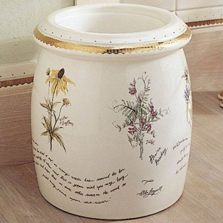 Kohler Prairie Flowers Floor Container K 14317 Wf 96