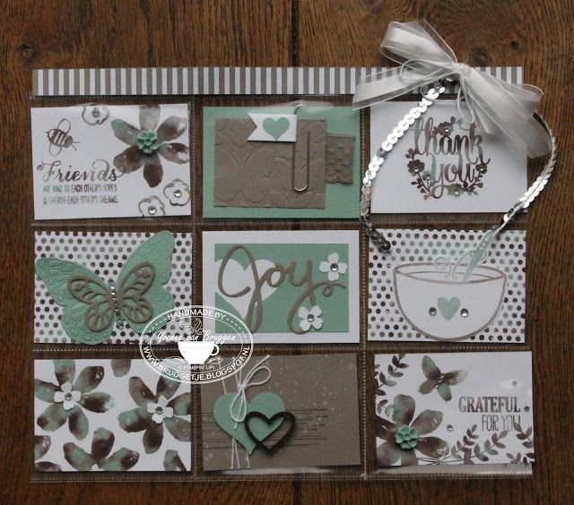 ...... Yvonne Stampin '& Scrapping ..... Pocket Letter, Project Life and Team-day!