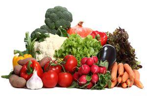 Panier de légumes frais de saison