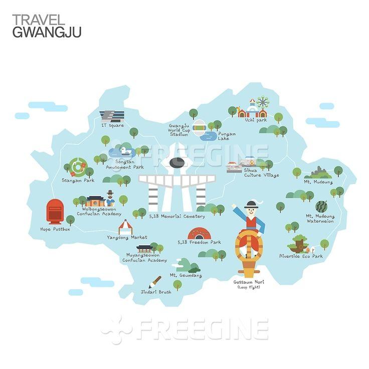 배경, 백그라운드, 남한, 대한민국, 관광, 여행, 오브젝트, 지역, 한국, 지도, 일러스트, 명소, freegine, map, korea…