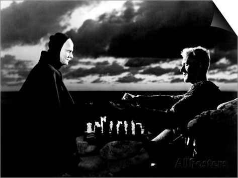 The Seventh Seal, Bengt Ekerot, Max Von Sydow, 1957 Prints at AllPosters.com
