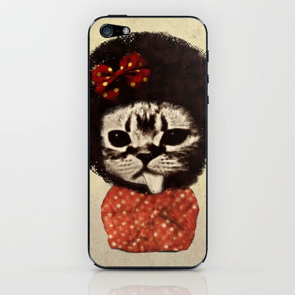 ★Society6★IPhoneCaseケース アフロ猫 byZumzzet
